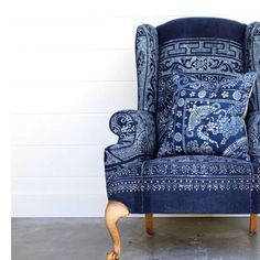 SPREAD YOUR WINGSThe traditional wing back chair is a timeless classic. Easily identified by its high back, winged sides and generous rolled arms.Adding to it's charm is the lovely piping and decorative wooden legs.Worth revisiting, make a statement in your room with themodern day versions of this classic.The original purpose for the wings were to prevent drafts in the old houses from reaching your upper body and to protect you from the heat of the roaring fires. Décor de Provence...