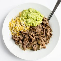 Slow Cooker Beef Barbacoa - better than Chipotle! Cabbage And Noodles, Fried Cabbage, Zucchini Bites, Bake Zucchini, Beef Barbacoa, Stuffed Banana Peppers, Slow Cooker Beef, Gluten Free Cooking, Chipotle