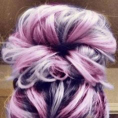 pink and purple hair | Tumblr
