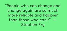 Never argue with Stephen Fry!