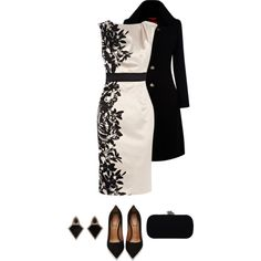 coast dress, created by divacrafts on Polyvore
