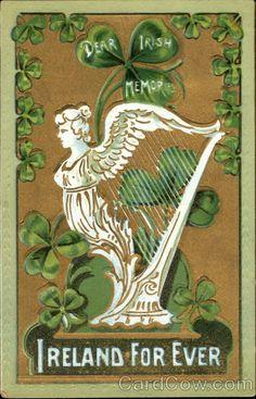 1911 (postmark) Dear Irish Memories Ireland For Ever