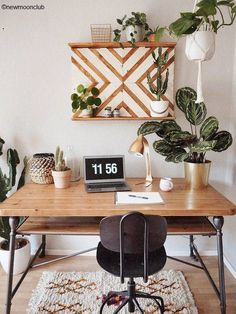 Most Popular Modern Home Office Design Ideas For Inspiration - Modern Interior Design Home Office Design, Home Office Decor, Home Design, Diy Home Decor, Room Decor, Interior Design, Modern Interior, Cd Decor, Design Ideas
