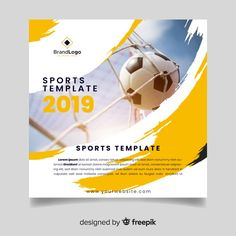 Discover thousands of copyright-free vectors. Graphic resources for personal and commercial use. Thousands of new files uploaded daily. Leaflet Template, Cover Template, Brochure Template, Business Flyer Templates, Flyer Design Templates, Sport Flyer, Sports Templates, Templates Free, Brochure Cover Design