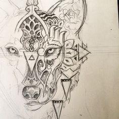 bohemian animal tattoo - Google Search