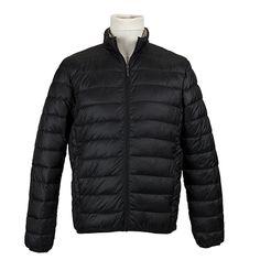 Giubbotto trapuntato a vita - Nero - Invernale. € 62,50. #hallofbrands #hob #jackets #coats #giubbotti #giaccone #invernale #wintry #winter