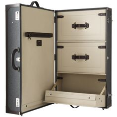 I want drawers in my luggage. Is that too much to ask for?  Tumi Townhouse Wardrobe Trunk http://www.amazon.com/Tumi-Townhouse-Wardrobe-Trunk-24062/dp/B001XUQV6S