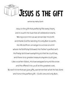 Christmas Writing Activity – My Gift To Jesus; Letters To Jesus - Everything About Christmas Christmas Skits, Christmas Prayer, Christmas Writing, Christmas Program, Christmas Concert, Christmas Activities, A Christmas Story, Christmas Holidays, Christmas Readings
