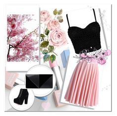 Spring by ayas-25 on Polyvore featuring мода, Chicwish, UN United Nude, Sephora Collection and Karlsson