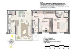 Planta (apartamentos 202 a 902)