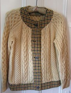 Donegal Tweed and Aran Sweater