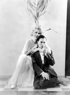 Anita Page and Buster Keaton in Free and Easy (1930)
