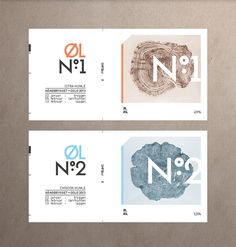 """Nicklas Hellborg     http://behance.net/Hellborg """"Branding for SMFB's home made beer."""" Nicklas is a graphic designer based in Oslo, Norway. Focused on graphic design, print design, packaging and advertising. The Design Blog:facebook  twitter  pinterest  subscribe"""