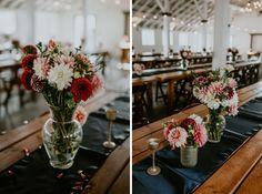 dairyland wedding flowers centerpieces