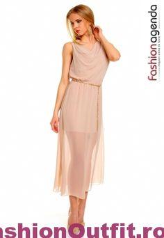 Rochiile sunt considerate articole vestimentare pline de feminitate, foarte lejere si comode, si sunt disponibile intr-o gama variata de modele si intr-o paleta Cold Shoulder Dress, Dresses, Fashion, Gowns, Moda, La Mode, Dress, Fasion, Day Dresses