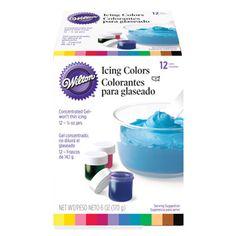 Wilton Icing Color Kit, 12-Colors. (Via consumercrafts.com)
