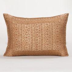 One of my favorite discoveries at WorldMarket.com: Copper Miramar Lumbar Pillow