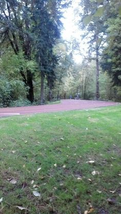 The Nike track on the Nike Campus in Beaverton, Oregon.