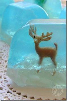 Házilag készíthető, játékos szappan, gyerekeknek az ünnepekre :)