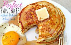 Chia Seed Pancakes & 10 Perfect Pancake Tips!