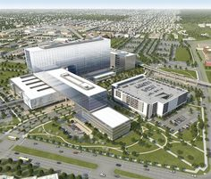 Construction is under way on Parkland Hospital, a 2.1 million-square-foot project in Dallas by HDR and Corgan Associates.     How Will Fate of Affordable Care Act Impact Health Care Architecture?