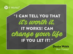 It Works! can change your life if you let it! Work hard this #Wraptober to earn that Get Out of Debt bonus! You can do it! We believe in you! #theGOODlife