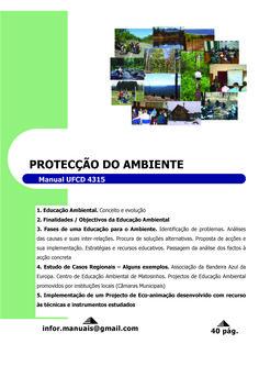 4315. Protecção do ambiente