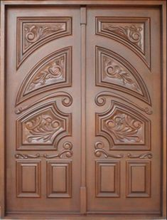 No matter how large or small a house is, well-made door design is essential to complete the structure. Wood Floor Design, Door Design Wood, Wooden Door Design, Wood Doors Interior, Double Door Design, Door Glass Design