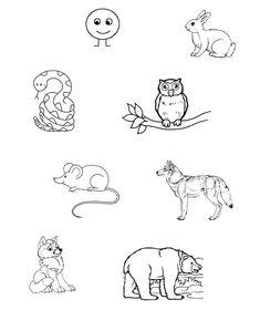 Pohádka o Koblížkovi | Předškoláci - omalovánky, pracovní listy Hello Kitty Coloring, Snoopy, Fictional Characters, Carnavals, Fantasy Characters
