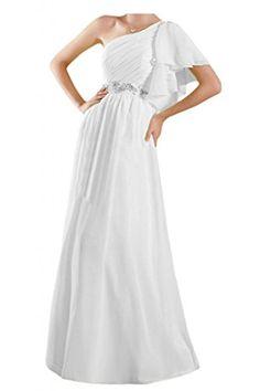 Toscana sposa adorabile la-spalla abiti da sera Chiffon lungo prom dre cdff8c9b423