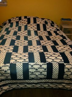 NFL Quilt or any sports related by BootRoadQuilter on Etsy, $50.00