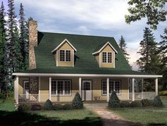 Cape Cod House Plans With Wrap Around Porch Cape Cod