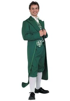 There's lots of fun to be had in this Irish Leprechaun costume, even if it's not St. Patrick's Day (but it really does help if it IS St. Patty's Day.)