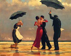 """Sogno Dentro Un Sogno: Jack Vettriano - """"The Singing Butler"""""""