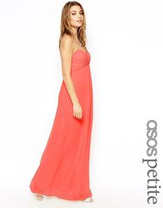 It's a petite size yay! Asos Petite, Petite Size, Coral Dress, Prom Dresses, Formal Dresses, Fashion Online, Lady, Wedding, Design