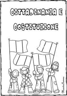 Cornicette copertine Citizenship, Elementary Schools, Homeschool, Coding, History, Kids, Geography, Tecnologia, Toddlers