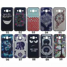 10 modèles en plastique dur Mobile téléphone Carcasa Funda housse pour Coque Samsung Galaxy J5 j 5 bande dessinée de luxe Capa Para Celular