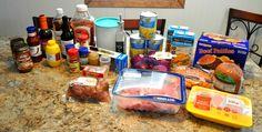 crock pot freezer meals