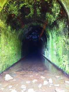Great Bend Tunnel, Talcott, WV. This is the tunnel of the John Henry legend.