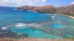Hanauma Bay Nature Preserve in Honolulu, HI