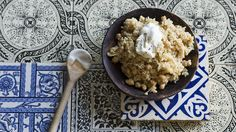 Burghul pilaf with chickpeas