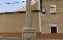 Cruz del Camino de Santiago en Medina de Rioseco