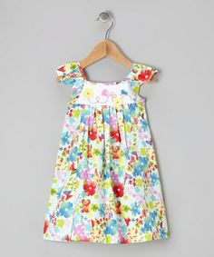 Take a look at this Rainbow Garden Dress - Infant & Toddler by P'tite Môm on #zulily today!