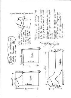Patrón para hacer una Blusa con hombros descubiertos yvolante. Tallas desde la 36 hasta la 56.