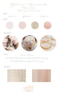 Blush and Champagne