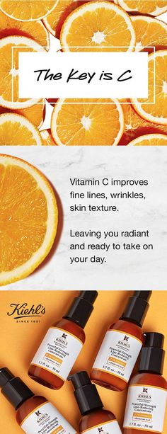 Vitamin C improves skin texture and fights wrinkles. Kiehl's new and imp… Vitamin C improves skin texture and fights wrinkles. Kiehl's new and improved Powerful Strength Line Reducing Concentrate has you covered – try it and C! Cancerous Moles, Vitamin C Benefits, Skin Moles, Mole Removal, Skin Growths, Prevent Wrinkles, Normal Skin, Skin Treatments, Acne Treatment