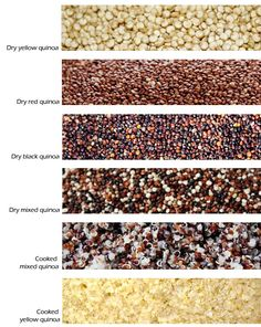 """""""Different Types of Quinoa"""" - By Cathy Fisher, Straight Up Food"""