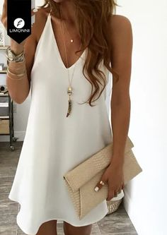 Swans Style is the top online fashion store for women. Shop sexy club dresses, jeans, shoes, bodysuits, skirts and more. Mode Outfits, Dress Outfits, Casual Dresses, Short Dresses, Casual Outfits, Fashion Dresses, Looks Chic, Casual Looks, Summer Dresses For Women