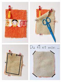 Du fil et mon...: TuTo DIY : Eponge ou gant de vaisselle, douche ... First Sewing Projects, Sewing Projects For Beginners, Diy Tea Bags, Porta Lingerie, Crochet Scrubbies, Cloth Bags, Crochet Projects, Sewing Crafts, Sewing Patterns