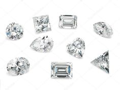 Loose Diamond Shapes assortment of different diamond cuts Stock Photo, … - loose diamonds Romantic Ways To Propose, Best Ways To Propose, Unique Diamond Engagement Rings, Designer Engagement Rings, Diamond Rings, Different Diamond Cuts, Diamond Shapes, Diamond Photography, Lab Diamonds
